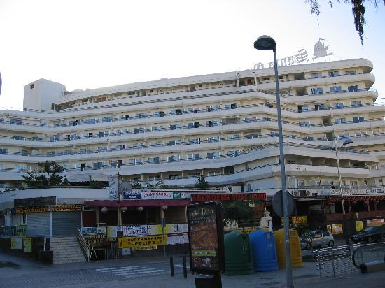 Hovima Santa Maria : Vorderansicht des Hotels