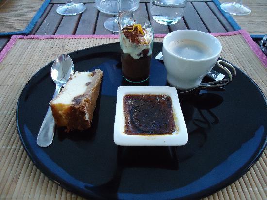 Chateauneuf-sur-Charente, Frankrike: Dessert