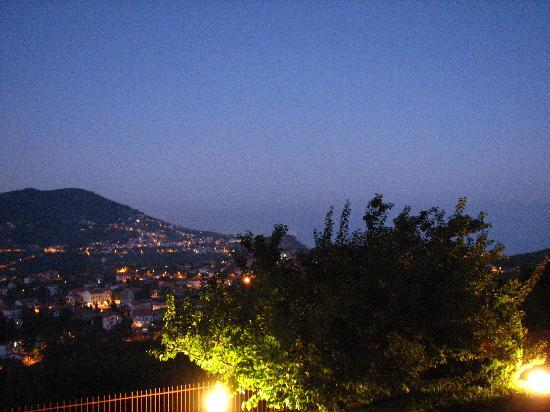 Casa Pendola: Panorama al tramonto 1