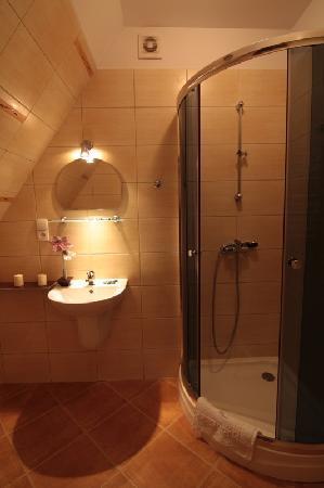Willa Pod Skocznia: bathroom