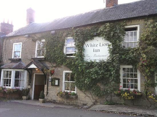 Outside the White Lion