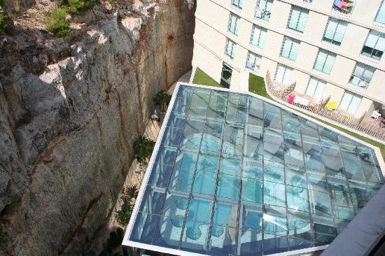 Agora Spa & Resort: Vista del Spa desde la habitación
