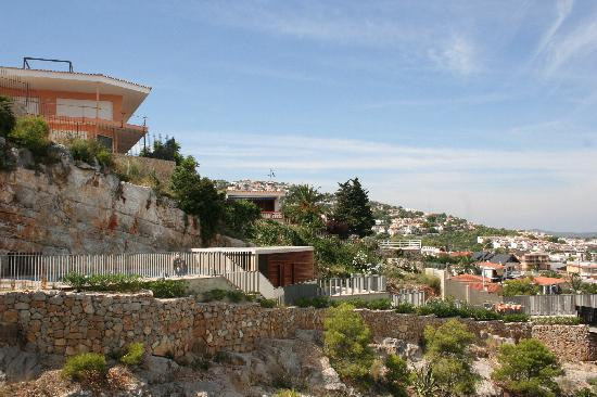 Agora Spa & Resort: Vista desde nuestra ventana en el 7º piso