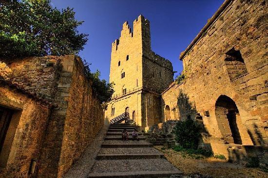 Auberge de Jeunesse Hi Carcassonne: Carcassonne - evening gloaming