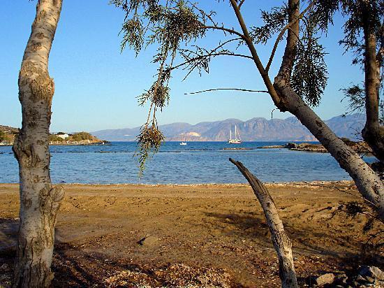 Akti Olous Hotel: Promenade vers la presqu'île d'Elounda