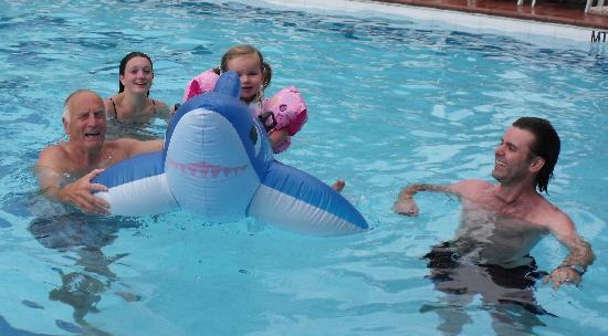 Ambienthotel Luna Rossa: Good size pool