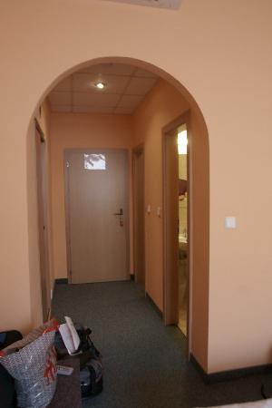 Pankrac: entrata della camera