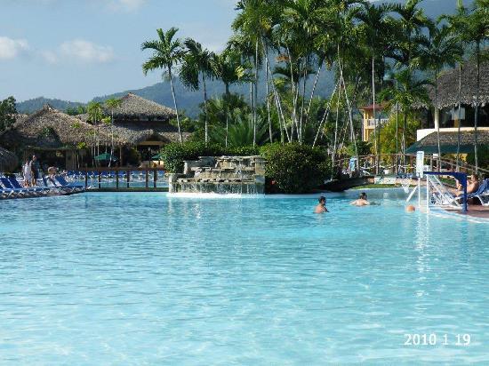 Puerto Plata, Dominik Cumhuriyeti: piscine tres grande
