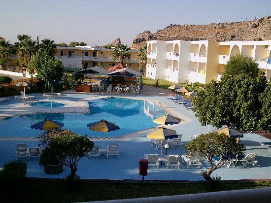 Lardos Bay Hotel: vista dalla camera 125