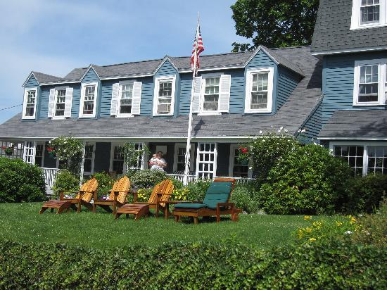 Seagull Inn: Der Eingang des Bed and Breakfast mit der Porch