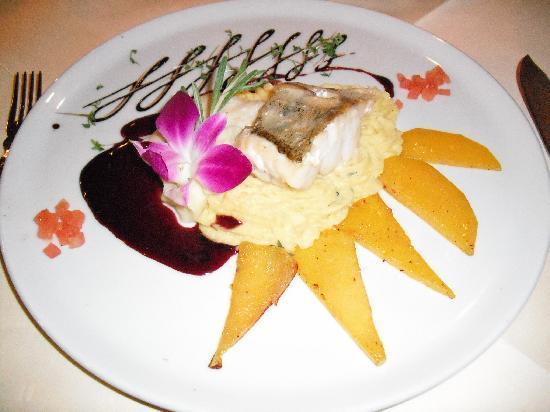 Hotel Weißmühle: Ein Gericht im Restaurant