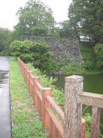 Yamagata castle: 山形城 お堀と石垣