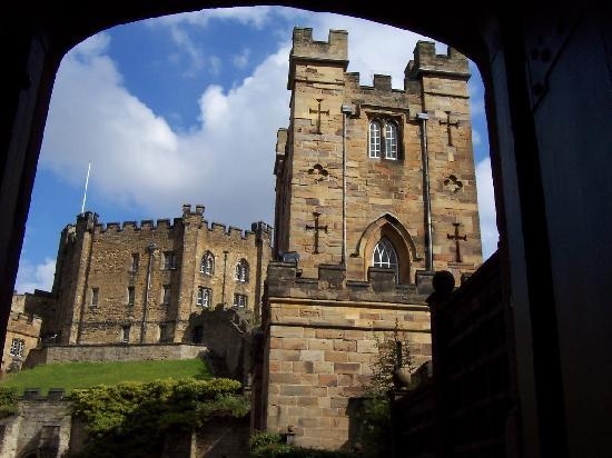 Durham Castle : view from my chambers