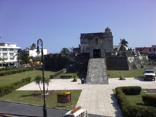 Baluarte de Santiago, across the street from the Hotel Baluarte