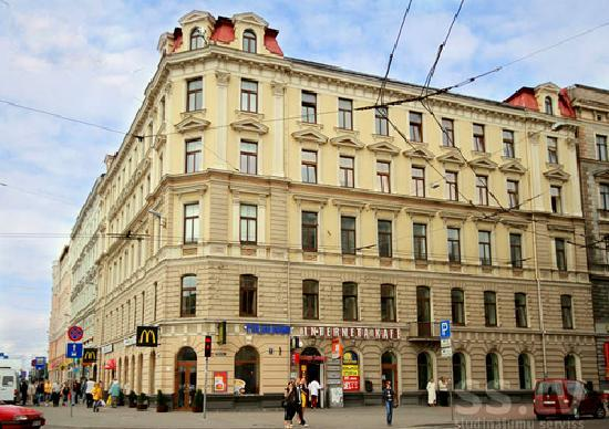 Cinnamon Sally Backpackers Hostel: Located at Merkela 1, Riga, Latvia