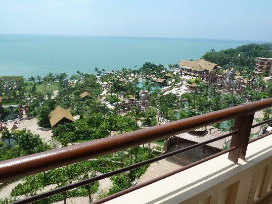 Centara Grand Mirage Beach Resort Pattaya : View from balcony 1