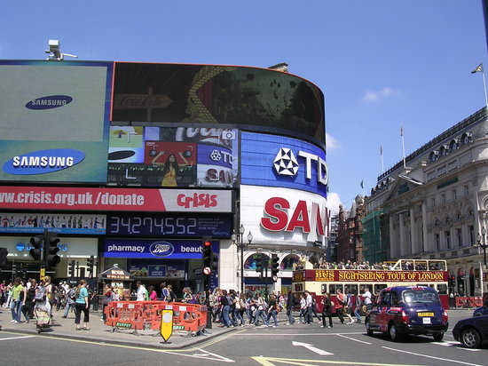 Piccadilly Circus : Picadilly Circus