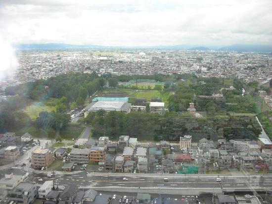 Kajo Central: 霞城セントラル 展望フロアからの眺め