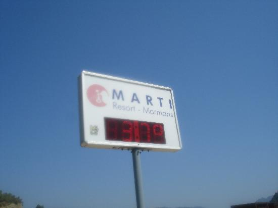 MARTI Resort de Luxe: Hot in Sept