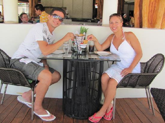 Secrets Maroma Beach Riviera Cancun: Seaside Grill for Lunch