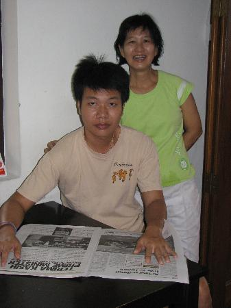 Tang House: Mrs Tang and her nice son