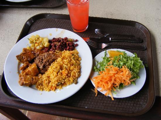 Turu Ba Ri Tropical Park: Lunch was tasty and healthy