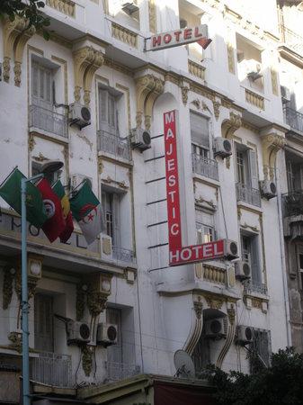 Majestic Hotel: la facade de l'hôtel