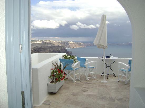 Imerovigli, Grecia: Vista desde el Balcon