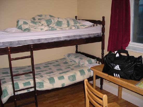 O'Briens Cashel Lodge: Dorm beds
