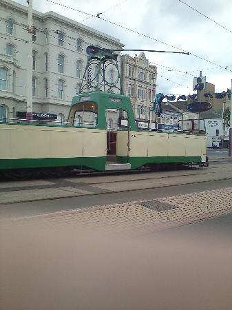 The Chesterfield Hotel : open top tram we were on