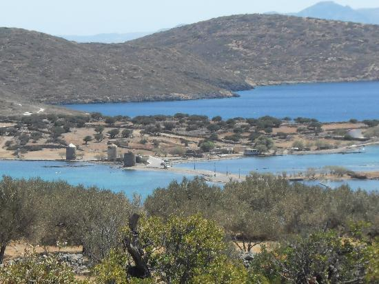 Elounda Residence: This is the view from our apartment