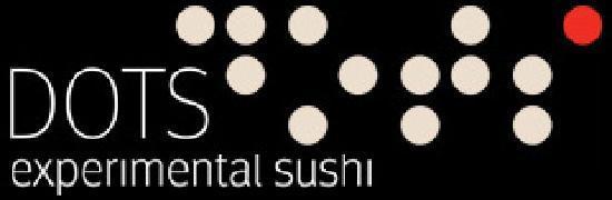 Dots - experimental Sushi: logo