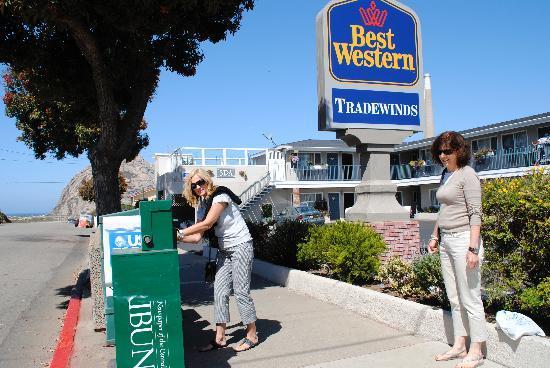 BEST WESTERN Tradewinds: hotel buitenzijde