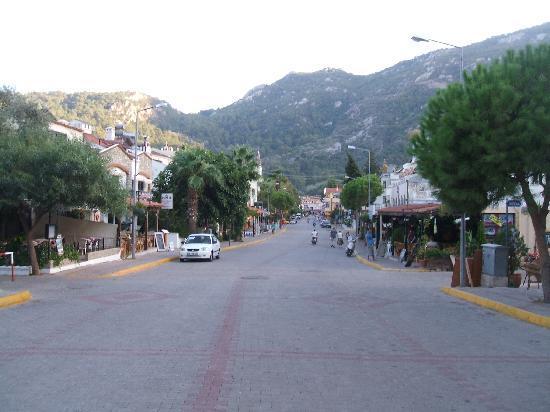 Turunc, Turkey: street view from street