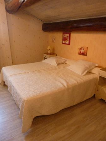 Auberge de Tavel : het slechte bed