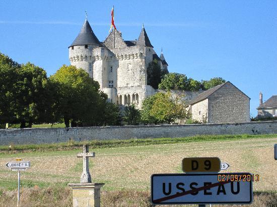 Chateau De La Motte Picture Of Chateau De La Motte Usseau