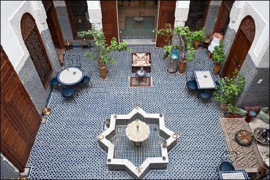 Riad Dar Al Safadi, Patio Central
