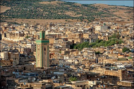Riad Dar Al Safadi, Vistas desde la Azotea