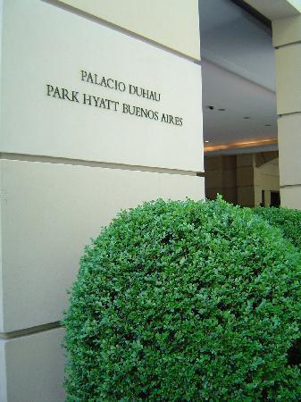 Palacio Duhau - Park Hyatt Buenos Aires: Eingang