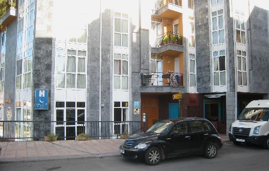 Nochendi Hotel: Hotel Nochendi on 1st flr; pvt apt/condos above; restaurants below.