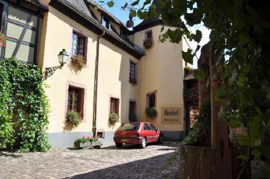 Hotel l'Abbaye d'Alspach: Hotel - Reception