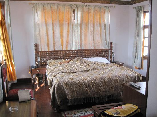 インターナショナル ゲスト ハウス, 部屋はこんな感じです。