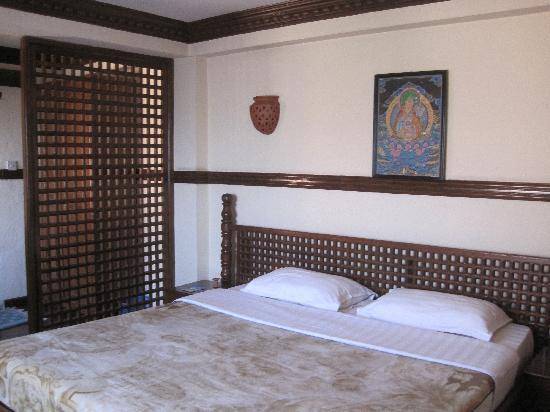 International Guest House: ポカラから戻って来たときに泊まった部屋。最初に泊まった部屋よりずっと快適でした。