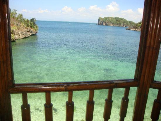 Natago Beach Resort: view of swimming area