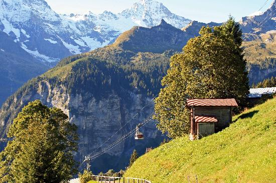 Hotel Jungfrau: Murren Views