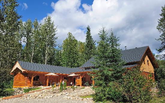 Moul Creek Lodge B & B : Die neu hergestellte Lodge im Blockhausstil
