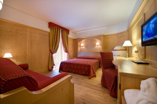 Sporthotel Rosatti: junior suite