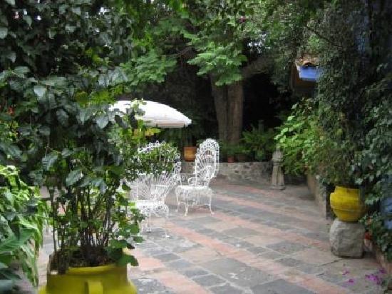 Posada Colibri - Hotel & Spa Temazcal: terrasse