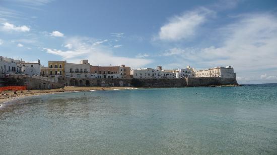 Senape de Pace Palazzo: public beach in Gallipoli