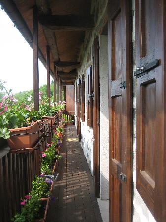 Feltre, Italia: balcone camera
